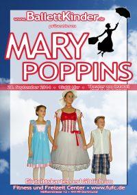 Die Kinder der Ballettschule Dortmund Grand Jeté tanzen Mary Poppins