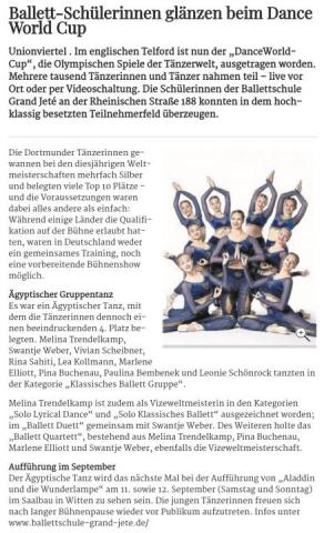 Ruhr Nachrichten 31.08.2021